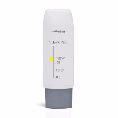 Protetor Solar Clear Pele FPS 30 - Abelha Rainha  50G
