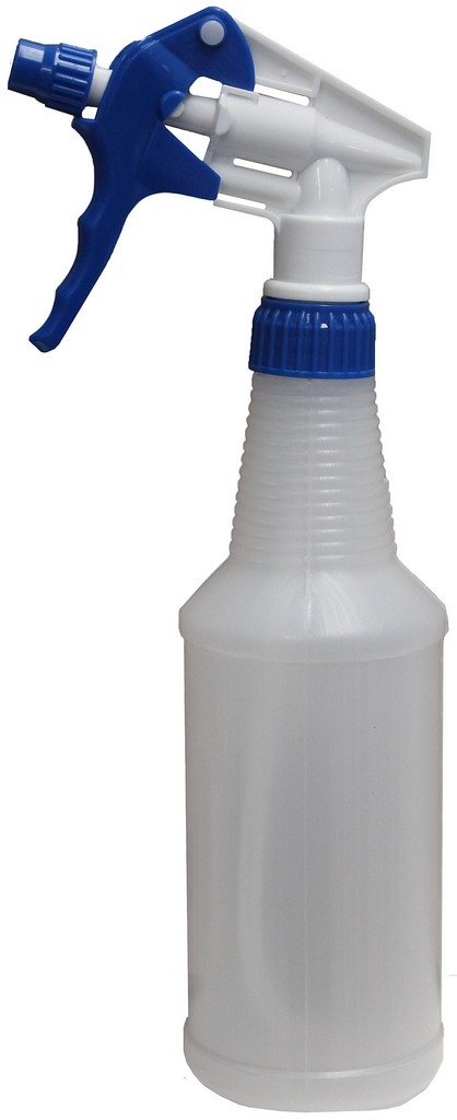 Pulverizador Borrifador Manual 500 Ml Bico Gatilho Spray Azul Branco Perfect Original
