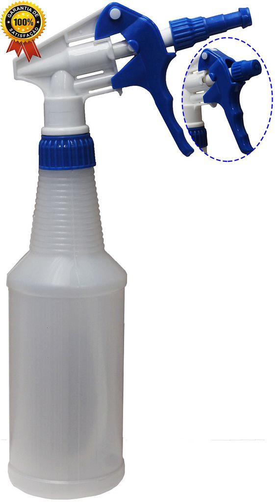 Pulverizador Borrifador Manual 500 Ml Bico Gatilho Spray Foam Espuma Azul Branco Perfect Original