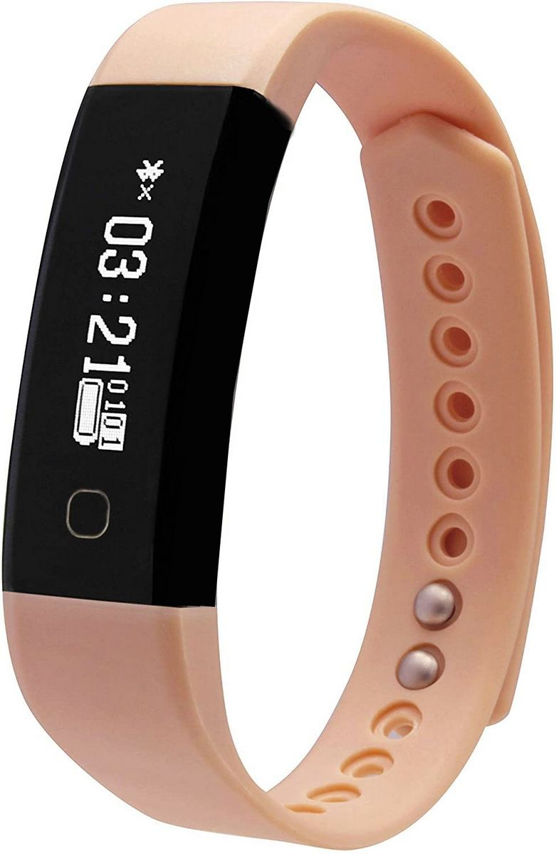 Relógio Inteligente Fit Band Com Conexão Bluetooth Esportivo Recarregável Prova D' Água Frequência Cardíaca Pressão Original Sanguínea