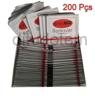 Removedor de Gel UV e Esmalte 200 Peças
