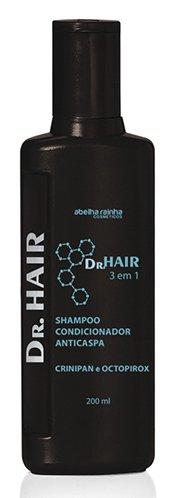 Shampoo Condicionador Anticaspa -  Dr. Hair 200ml - Abelha Rainha