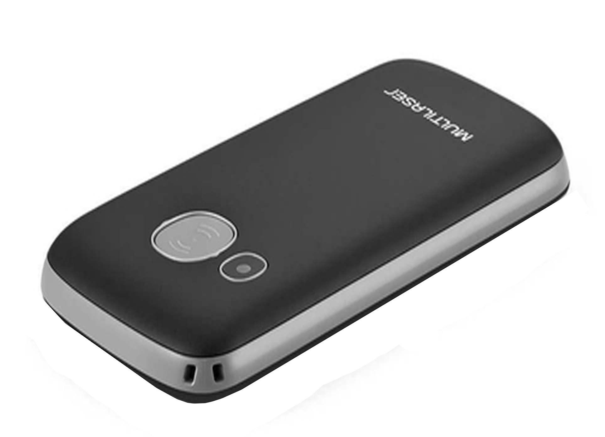Telefone Celular Preto Vita 3G Dual Chip USB e Bluetooth Tela 1,8 Pol. + Base Carregadora Preto Multilaser P9091