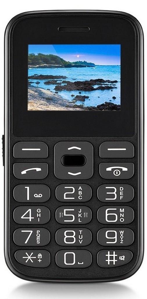 Telefone Celular Vita Dual Chip USB e Bluetooth Tela 1,8 Pol. Rádio Mp3 Lanterna SosTecla Grande Vovô Multilaser P9120