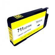 Compativel: Cartucho novasupri 711XL para HP T120 T520 Amarelo 28ml