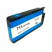 Compatível: Cartucho novasupri 711XL para HP T120 T520 Ciano 28ml