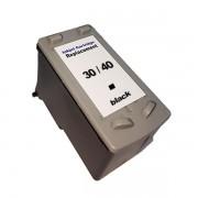 Compativel: Cartucho de tinta novasupri Canon PG40 Canon 40 IP1180 IP1200 MP1300 MP1700 MP2600 MP6210 MX160 MX318 Preto Compatvel 13ml