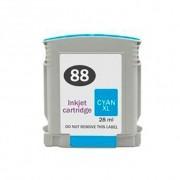 Compatível: Cartucho novasupri para HP 88XL 88 C9391AL para K550 K8600 K5400 Cyan