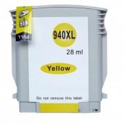 Compatível: Cartucho nacional Tinta 940XL 940 para HP C4909AL Amarelo 8500 8000 8500W 8000WL 28ml