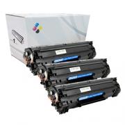 Compatível: Kit 3 Toner CF279A CF279 279A para HP M12 M26 M12A M12W M26A M26NW M12 12W 26A 26NW 1k