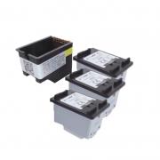 Compatível: Kit Cartucho novasupri Tinta 664xl para HP 1115 2136 3636 3836 3536 4676 com 3 Refis ECO SAVER 17,2ml Preto