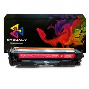 Compativel: Toner ByQuality CF503 CF503A para HP M254 M280 M281 M281FDW M254DW Magenta 1.3K