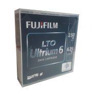 Fita LTO 6 2.5TB - 6.25TB Fujifilm Ultrium