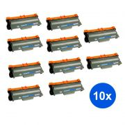 Compatível: Kit 10 Toner Brother TN750 8150 8152 8155 MFC 8510 8520 8515 8710 8950 8910 3392 8912