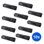 Compatível: Kit 10 Toner MLT-D101S Samsung ML2160 ML2161 ML2165 SCX3400 SCX3401 SCX3405 SCX3406 ML2162G ML2166W ML3400F ML3406W