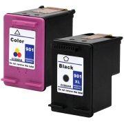 Compativel: Kit 2 Cartuchos para HP 901XL J4540 J4550 J4580 J4660 J4680 J4500 Color e Preto