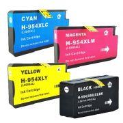Compatível: Kit 4 Cartuchos para HP 954XL para HP Officejet Pro 8700 8715 7740 8710 8720 8740 8210 8716 8725 CMYK