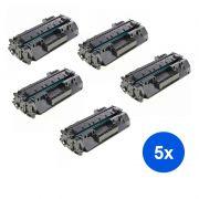 Compativel: Kit 5 Toner CF226A 226A para HP M426FDW M426DW M426FDN M402DN M402N