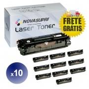 Compativel: Kit com 10 Toner para HP Q2612A - 1010 1012 1015 1018 1020 1022 3015 3030 3050 3052 1319