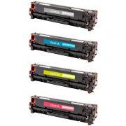 Compatível: Kit 4 Toner CE410A 411A 412A 413A para HP 305A M451 M351 M475 M451DW M475DW M375NW