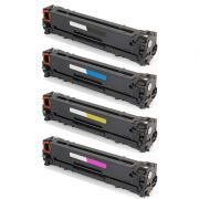 Compativel: Kit Toner para HP CE320A CE321A CE322A CE323A CM1415 CP1525 CM1415FN CM1415FNW CP1525NW