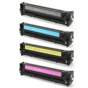 Compatível: Kit Toner para HP CF210A CF211A CF212A CF213A M276N M251NW M276NW M251 M276 M251N