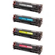 Compatível: Kit 4 Toner CF380 80A 81A 82A 83A 312A para HP M476 M476NW M476DW