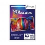 Papel Fotográfico A3 Pro Resolution Brilhante Autoadesivo 135g 20 folhas