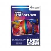 Papel Fotográfico Pro Resolution A3 Brilhante 180g 20 folhas