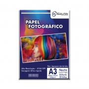Papel Fotográfico Pro Resolution A3 Brilhante 230g 20 folhas