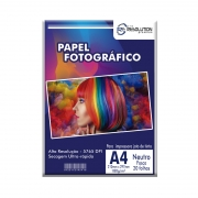 Papel Fotográfico Pro Resolution A4 Fosco 180g 20 folhas