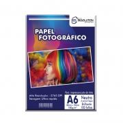 Papel Fotográfico Pro Resolution A6 10x15 Brilhante 180g 100 folhas
