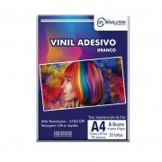 Vinil Adesivo A4 Branco Pro Resolution 70 microns 20 folhas