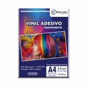 Vinil Adesivo A4 Transparente Pro Resolution 70 microns 20 folhas