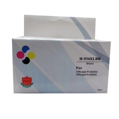 Compativel: Cartucho novasupri 934 XL para HP OfficeJet Pro para HP 6230 para HP 6830 - Modelo 934XL 934 C2P23AL - Preto 53ml
