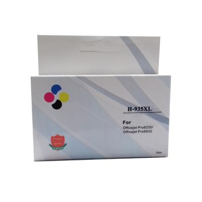Compativel: Cartucho novasupri para HP 935 XL para HP 6230 6830 935XL Amarelo 15ml