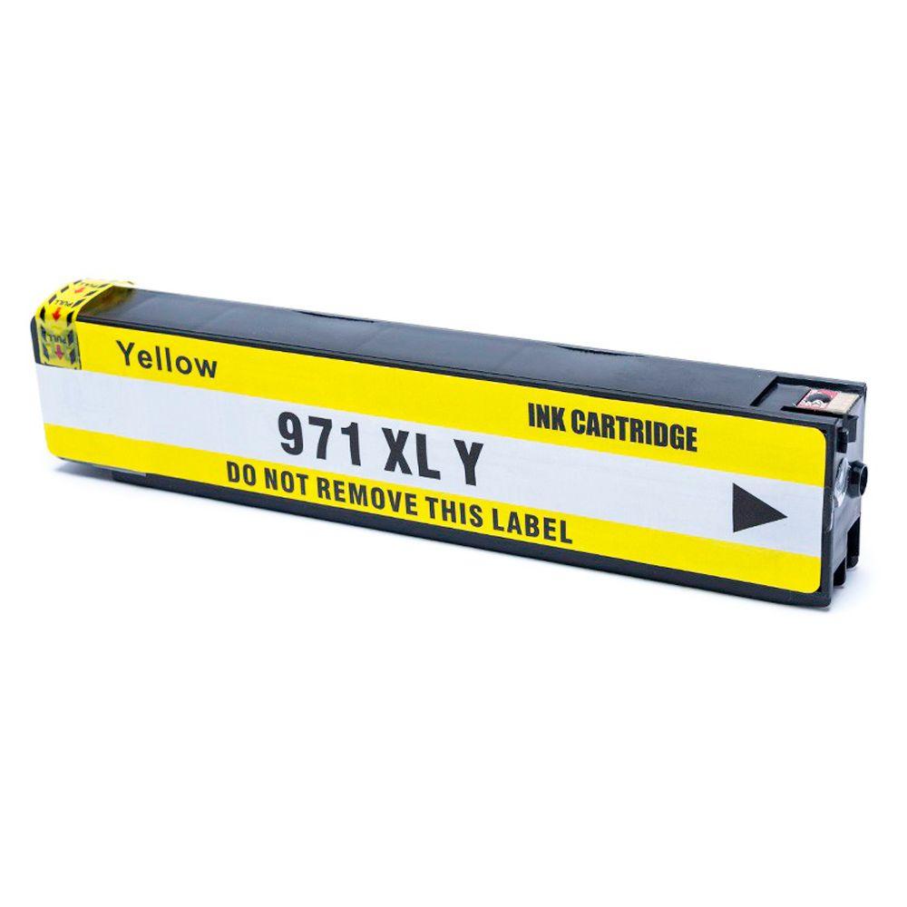 Compativel: Cartucho novasupri 971XL para HP X451 X476 X476 X551 X576 Amarelo 120ml