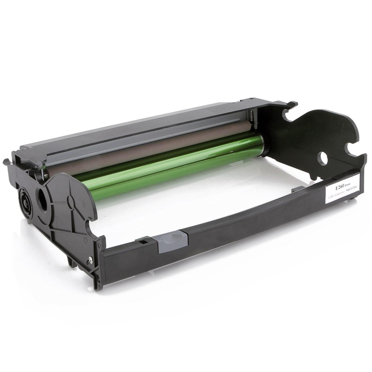 Compativel: Fotocondutor para  Lexmark E260X22G E260D E260DN E360D E360DN E460D E460DW X263 X264 X363 X364 X464