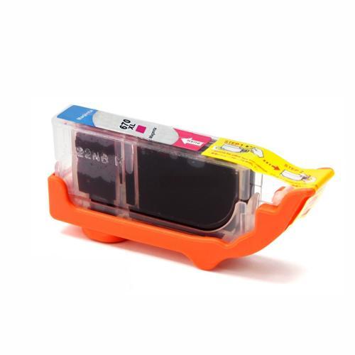 Compativel: Cartucho novasupri para HP 670XL CZ119A Deskjet 3525 5525 4615 4625 Magenta - 15ml
