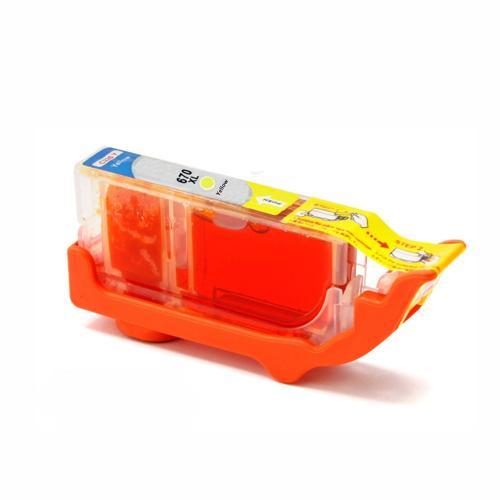 Compatível: Cartucho Novasupri para HP 670XL CZ120AB Deskjet 3525 5525 4615 4625 Amarelo - 15ml
