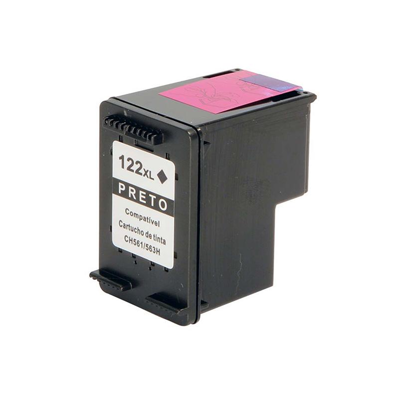 Compativel: Cartucho novasupri Tinta 122XL 12ML 1000 1050 2000 Preto