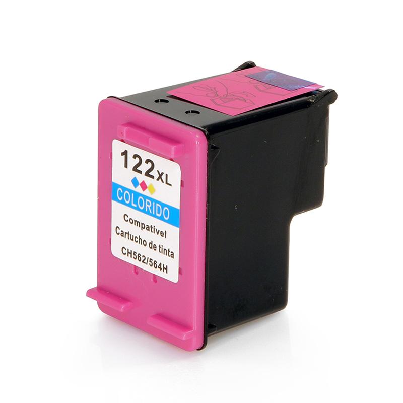 Compativel: Cartucho de tinta novasupri para HP 122XL 13ML Colorido - Deskjet 1000 2000 2050 3050
