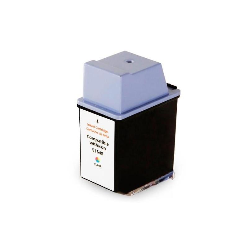 Compativel: Cartucho de tinta novasupri para HP 49A 51649 23ML Colorido