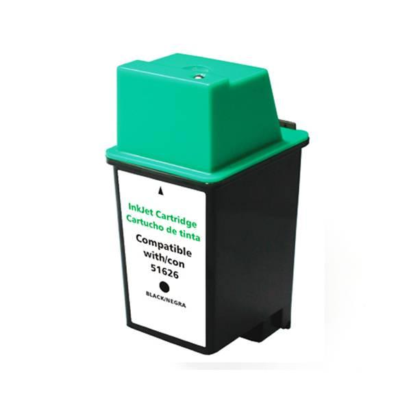 Compativel: Cartucho de tinta novasupri para HP 51626 26 200 300 400 500 540 550 560 1200 40ML Preto