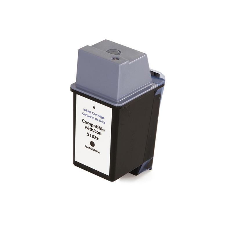 Compativel: Cartucho de tinta novasupri para HP 51629 40ML Preto - Officejet 580 590 600 635 700 710 720 PSC370 380