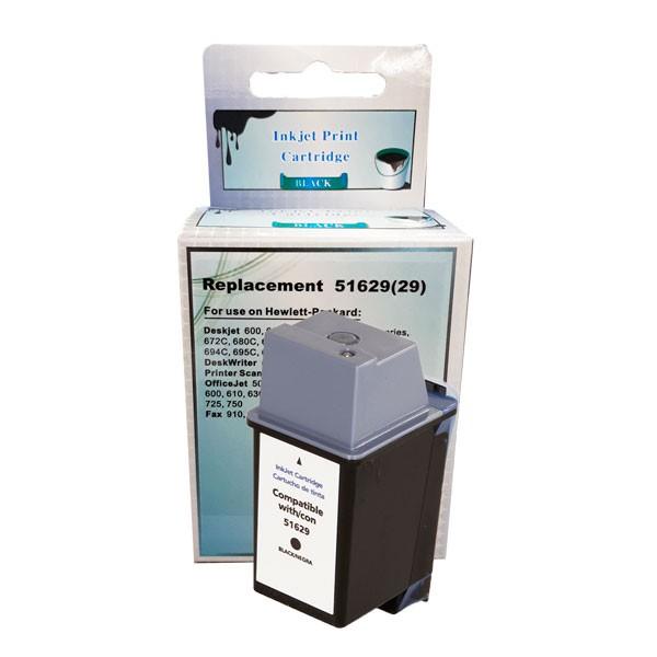 Compativel: Cartucho de tinta novasupri para HP 51629 40ML Preto - Fax 920 Fax 910
