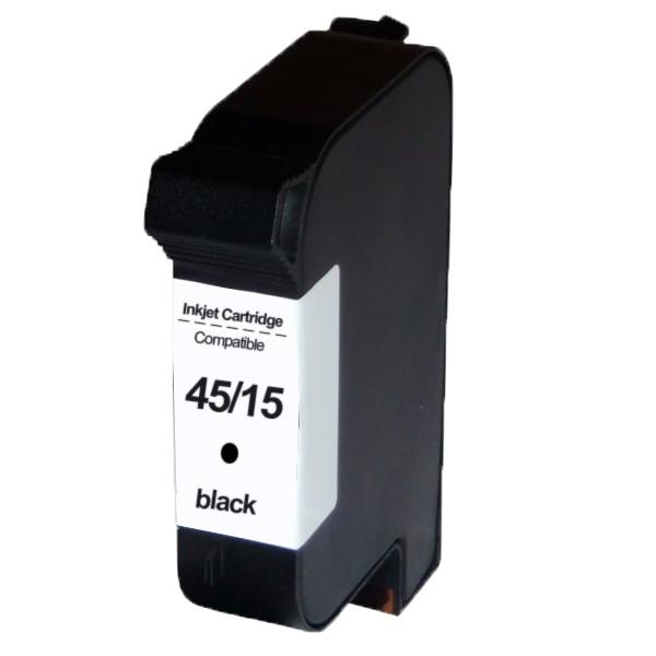 Compativel: Cartucho novasupri para HP 51645A 45a 1120C 1150 1160C 810C 710C PSC500 812C 815C 825C 825CVR 840C 920C 920CXI 940C 940CVR 3820 38ML