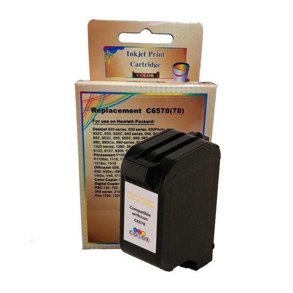 Compativel: Cartucho de tinta novasupri para HP 6578D 19ML Colorido