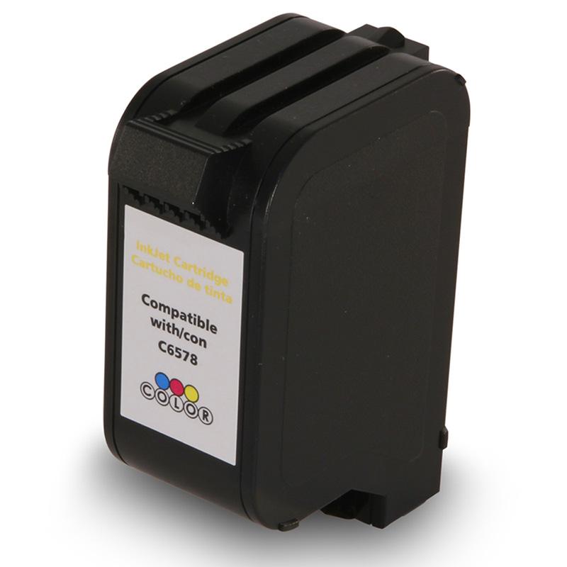Compativel: Cartucho de tinta novasupri para HP 6578D 19ML Colorido - 960CXI 970CSE 970CVI 980C 990CSE 990CXI 995C
