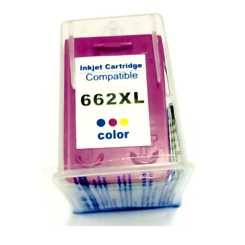 Compativel: Cartucho de tinta novasupri para HP 662XL CZ106A 10ML Colorido - Deskjet 2546 2645 2646 3515 3516 3545